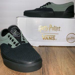 NWB Vans Era Harry Potter Slytherin Sneakers